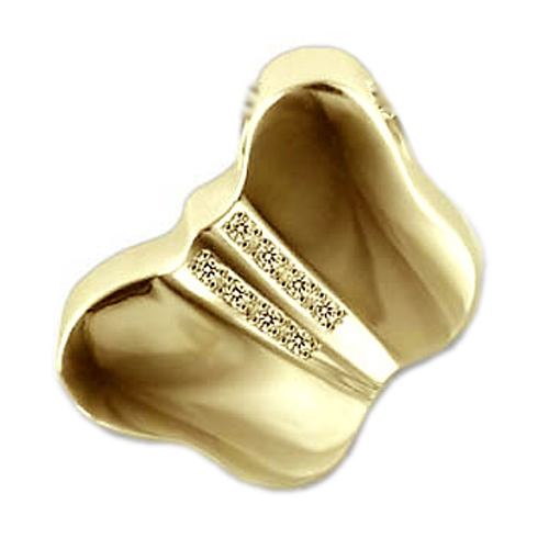 Diervormige assieraden goud
